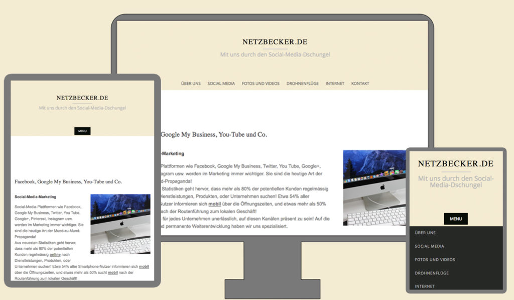 Websites / Homepages by NetzBecker