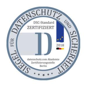 Zertifizierte Datenschutzbeauftragte - Siegel für Datenschutz und Sicherheit